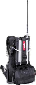 Hytera RD965 mit Rucksack