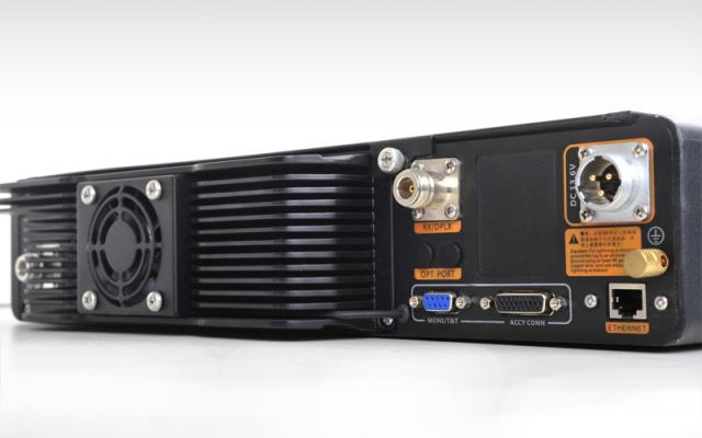 DMR-Repeater Hytera RD985 / RD985s Rückseite