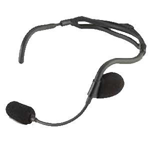 Robustes Nackenbügel-Headset (Abbildung ähnlich)