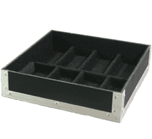 untere Einsetzschale für Flightcase actisio V8 / V16