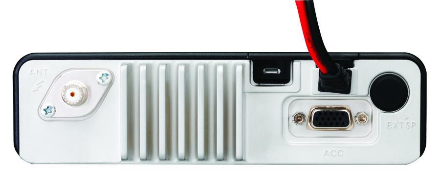 Vertex Standard VX-4500 Rückseite
